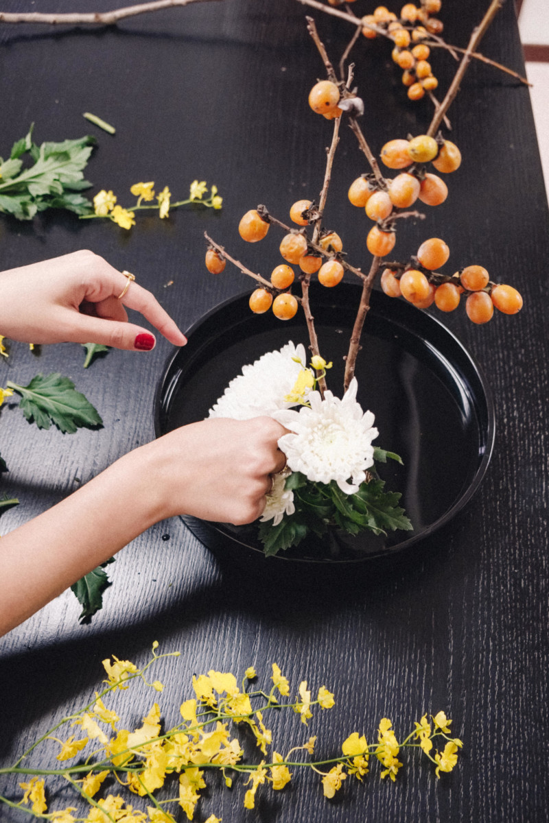A Lesson in the Japanese Art of Ikebana - She's So Bright, Japan, Travel, Flowers, Lessons, DIY