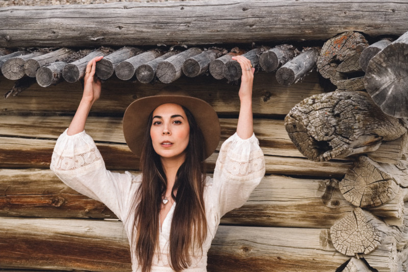 A New Year of Challenge and Adventure - She's So Bright, Grand Teton National Park, Adventure, Old West, Style, Western, Prairie, Zimmerman, My Style, Outfit, Inspiration, Log Cabin