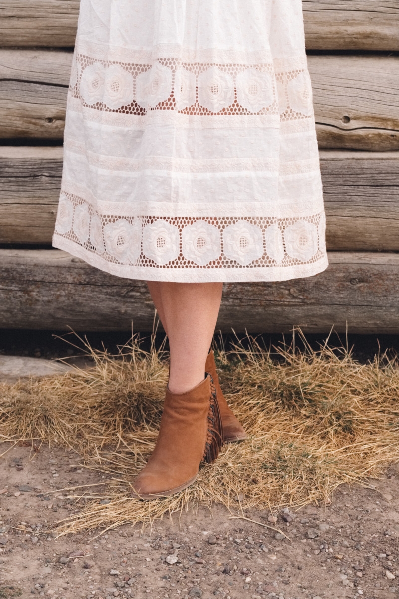 A New Year of Challenge and Adventure - She's So Bright, Grand Teton National Park, Adventure, Old West, Style, Western, Prairie, Zimmerman, My Style, Outfit, Inspiration, Log Cabin, Wanderlust, Wyoming, Fashion, Boots
