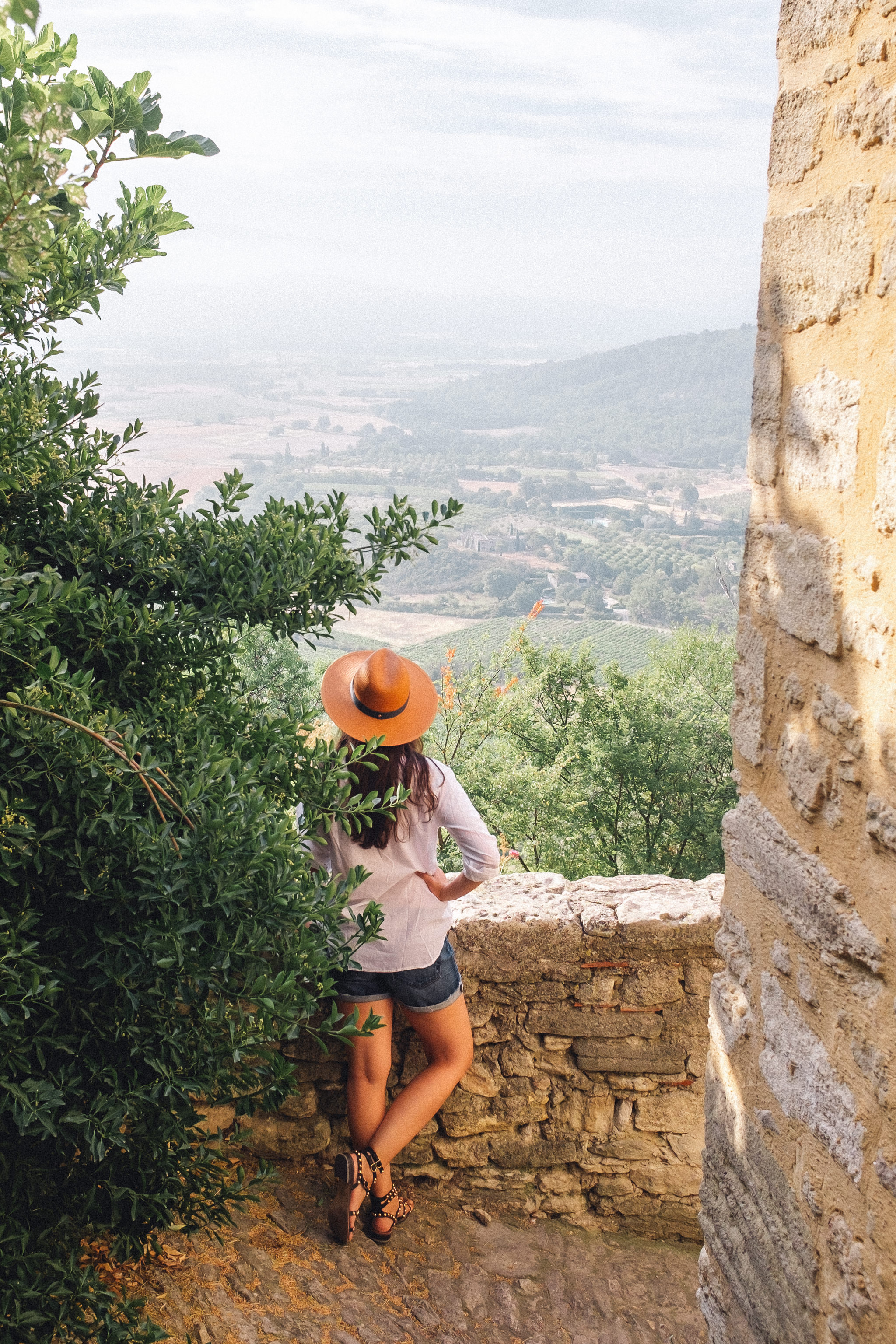 The Overwhelming Task of Learning a New Language - She's So Bright, Paris, South of France, Gordes, Straw Hat, Panama, Travel, Beauty, Provence
