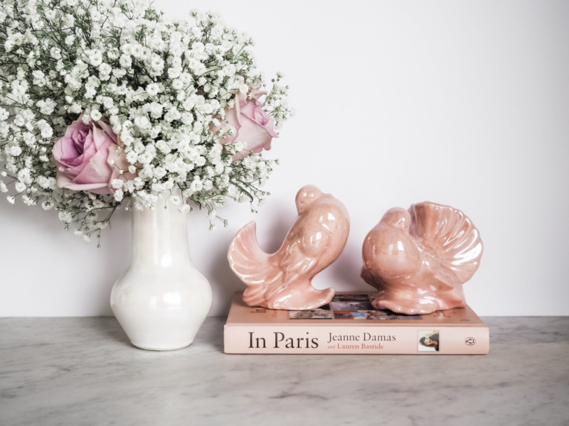 A Jewel of a Vintage Shop - She's So Bright, Mission et Made, Etsy, Vintage, Shop, Chic, French, Pink, Decor, Inspiration, Birds