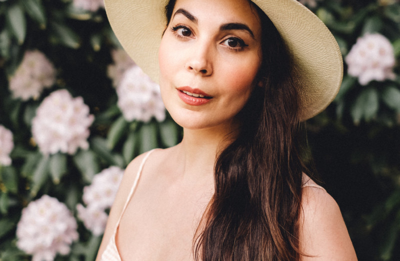 A Collection of Quirk - What I'm Watching/Doing/Reading Lately - She's So Bright, Hat, Portrait, My Style, OOTD, Sézane, Janessa Leone, Madewell, Reading, Flowers, Style